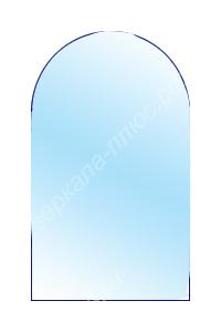 зеркало с полукруглым верхом