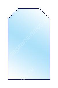 зеркало с усеченными углами