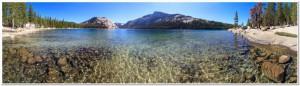 Yosemite National Park, Panorama of Lake Tenaya (Tioga Pass), C