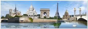 Panorama Paris France