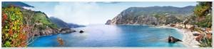 bella Italia series - panorama of Monterosso al mare, Cinque ter